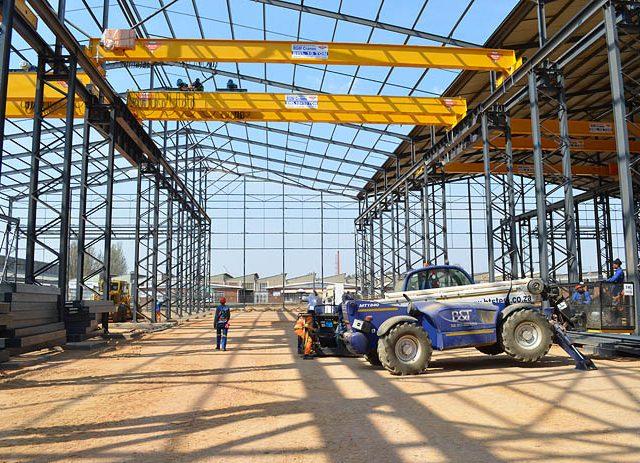 Apex workshop Steel Structure erection