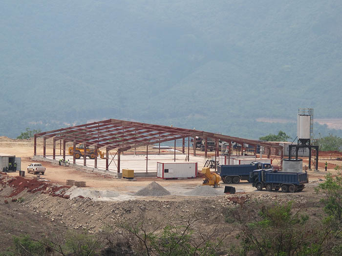 BT Steel structure project for Tonkolili Iron Ore