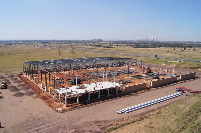 BT Steel structure project for the JD Group