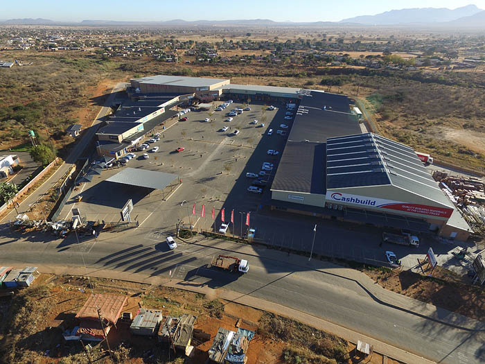 BT Steel structure project for mahwelereng Mall