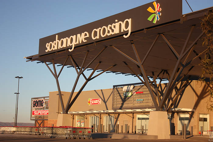 BT Steel structure project for soshanguve Mall
