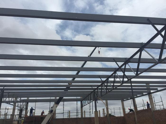 Steel structure news | Moutsiya Mall, Limpopo