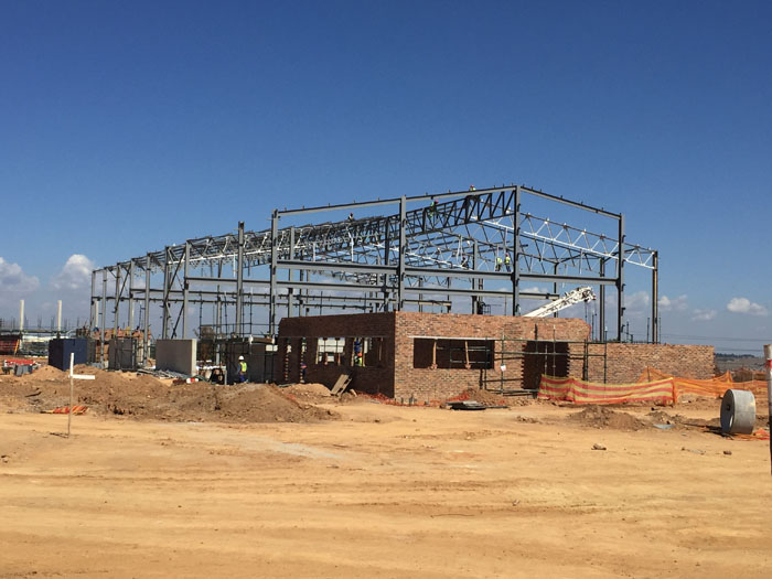 Steel structure news | Peri Buildings, Centurion