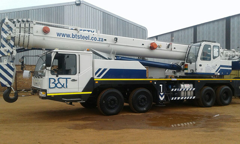 50 ton crane added to B&T Steel Fleet